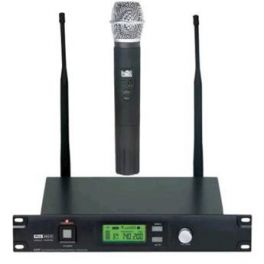Master Audio UR501H Radiomicrofono UHF palmare wireless con display LCD