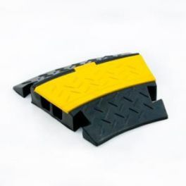 Pedana proteggi cavo Master Audio CP2 ad angolo da 30° a 2 canali