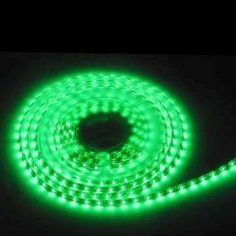 Striscia BSLG Master Audio CON FONDO NERO flessibile a 300 LED colore VERDE - bobina da 5 metri