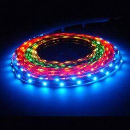 Striscia WSLRGBH Master Audio flessibile a 300 LED RGB CON FONDO BIANCO - bobina da 5 metri - 72W