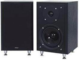 ELTAX MONITOR I diffusori HiFi compatti 2 vie bass Reflex 90W BLACK (COPPIA)