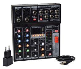 GLEMM MXP 05 Mixer microfonico 5 canali