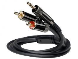 Ortofon 6NX-MPR30 M-RCA Cavo di segnaleMiniJack/RCA da 1,20MT Conduttori in rame puro 6N OFC