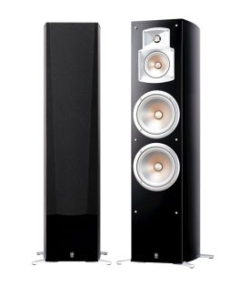 Yamaha NS-777 Diffusori da pavimento hi-fi 250W 3 vie Bass-Reflex seie EF (COPPIA)