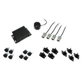 kit completo di 4 sensori di parcheggio posteriore Alkor AK8C006