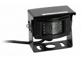Alpine HCE-6012 retrocamera universale specifica per camper con angolo di 170° , colore Nero Lucido