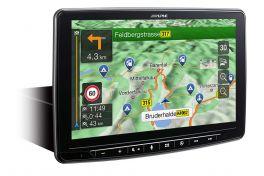 Alpine INE-F904-DU autoradio specifico per FIAT DUCATO da 9'' con GPS NAVI TRUCK