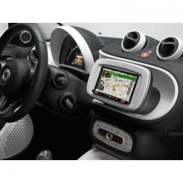 Alpine INE-W720SM-W autoradio per Smart 453 Car Play Android Auto, BIANCO