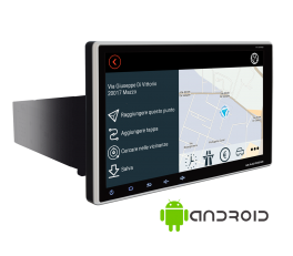 """Macrom M-AN900 monitor 9"""" radio multimediale 2 DIN Android 8.1, wifi, GPS"""