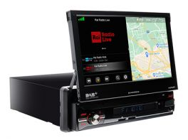 Macrom M-AN6560DAB Autoradio 1 DIN Monitor multimediale Android NETFLIX preinstallato - Wi-Fi Memoria RAM 2 Gb
