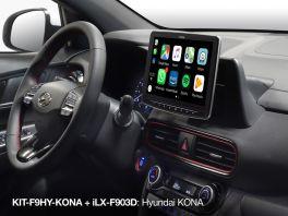 Alpine ILX-F903-KONA autoradio 9'' per Hyundai KONA con DAB, Apple CarPlay e Android Auto,