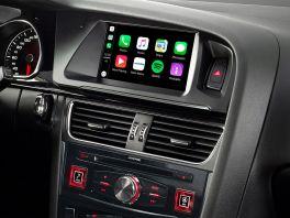 Alpine X703D-A5 autoradio 2 din per Audi A5, mappe TomTom, Apple CarPlay e Android Auto