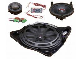 Audio System MFIT MERCEDES C CLASS W205 kit completo 3 vie (woofer + medio + tweeter)