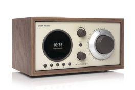TIVOLI MODEL ONE+ Walnut/Beige - Mini Hifi Bluetooth / DAB+ / FM / Table radio