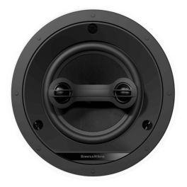 """B&W CCM663SR BIANCO Diffusore singolo """"stereo"""" a 2 vie da soffitto 80W a canale"""