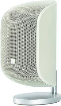 B&W M-1 BIANCO Mini diffusore da muro, appoggio o stand COPPIA a 2 vie in bass reflex 100W