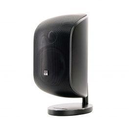 B&W M-1 NERO Mini diffusore da muro, appoggio o stand COPPIA a 2 vie in bass reflex 100 W