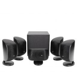 B&W MT 50 nero Sistema composto da 5 diffusori M-1 New e da subwoofer amplificato ASW-608