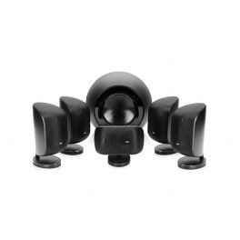 B&W MT 60D nero Sistema composto da 5 diffusori M-1 New e da subwoofer amplificato PV-1D