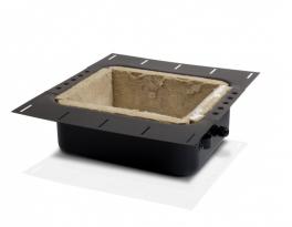 B&W BB 6C Back Box in metallo per diffusori serie CCM