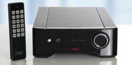 Rega Brio R 2017 amplificatore nero da 2x50W con telecomando e stadio phono MM