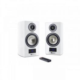 Canton SMART VENTO 3 diffusori acustici bianco lucido da stand attivi con connessione wireless (COPPIA)