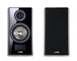Canton SMART VENTO 3 diffusori acustici nero lucido da stand attivi con connessione wireless (COPPIA)