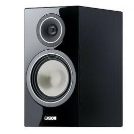 Canton Chrono SL 526.2 Diffusori acustici compatto colore Nero da stand a 2 vie, cassa chiusa, 100W (COPPIA)
