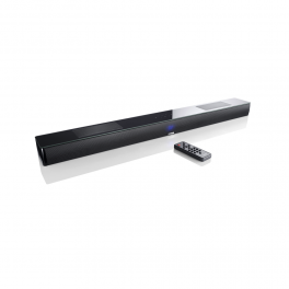 Canton Smart Soundbar 9 nero e diffusore Google Chromecast E Spotify Connect