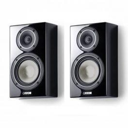 Canton Vento 816.2 coppia diffusori acustici da parete colore NERO a cassa chiusa, Wave-Surround (COPPIA)