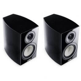 Canton VENTO 836.2 diffusore acustico colore NERO compatto a 2 vie, bass reflex, da stand (COPPIA)