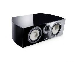 Canton Vento 866.2 Center diffusore acustico centrale colore Nero 3 Vie, sistema Bass-Reflex su stand