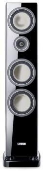CANTON VENTO 886.2 DC diffusori acustici colore NERO a 3 Vie, sistema Bass-Reflex da pavimento (COPPIA)