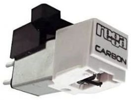 REGA CARBON testina MM, stilo sostituibile, fissaggio standard a 2 viti, cantilever carbonio