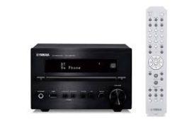 Yamaha CRX-B370D Sintonizzatore amplificato unità centrale mini hifi con lettore CD, DAB+, Bluetooth e USB