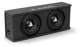 JL Audio CS210-WXv2-4 subwoofer in cassa doppio woofer da 250 mm e 400 W a 2 Ohm