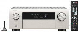 Denon AVC-X4700H SILVER amplificatore AV 9.2 canali 8k/4k 200W HDR10+