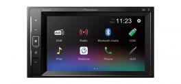 Pioneer DMH-A240DAB autoradio multimediale 2 DIN da 6,2'', DAB/DAB+, USB, WebLink, Bluetooth