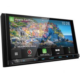 Kenwood DNX9190DABS autoradio 2 DIN con GPS, schermo HD, Apple car play wireless, Android wireless