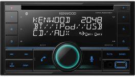 Kenwood DPX-5200BT autoradio Bluetooth / Spotify / Amazon Alexa / CD / Front-USB / Front-AUX-IN