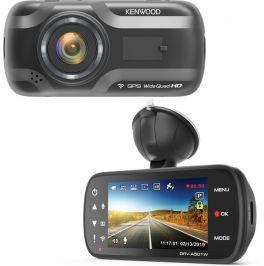 Kenwood DRV-A501W Dashcam Quad HD con sensore G a 3 assi, GPS e collegamento wireless