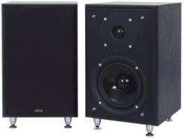 ELTAX MONITOR III diffusori da Scaffale HiFi 150W BLACK (COPPIA)