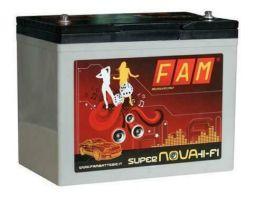 FAM 80 SuperNova Batteria 80Ah BASSA Hi-Fi SPL