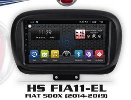 "Hardstone HS FIA11-EL autoradio per FIAT 500X dal 2014, Android 8.1 schermo 9.0 / 10,1"""
