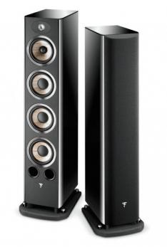 "Focal Aria 936 NERO LACCATO Coppia diffusori da pavimento, 3 vie, PowerflowTM, woofer ""FLAX"", tweeter TNF, 50-300W"