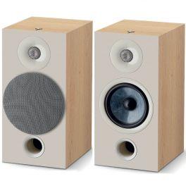 Focal chora 806 COPPIA diffusori passivi da stand, 2 vie, bass reflex, legno chiaro,  midwoofer, Slatefiber, tweeter concavo 120 W