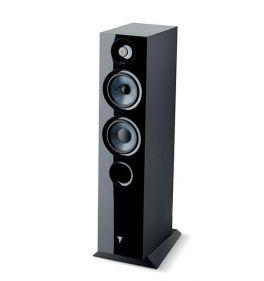 Focal chora 816 COPPIA diffusori da pavimento, 2,5 vie, Nero, bass reflex, Slatefiber, 200 W