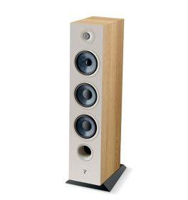 Focal chora 826 COPPIA diffusori da pavimento, 3 vie, Legno chiaro, bass reflex, 2 woofer, 250 W