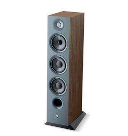 Focal chora 826 COPPIA diffusori da pavimento, 3 vie, Legno scuro, bass reflex, 2 woofer, 250 W