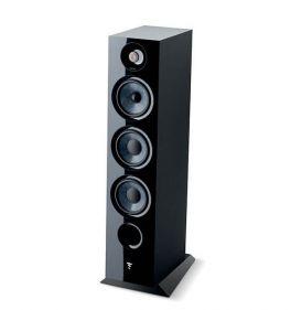 Focal chora 826 COPPIA diffusori da pavimento, 3 vie, Nero, bass reflex, 2 woofer, 250 W